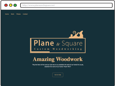 PlaneandSquare Website