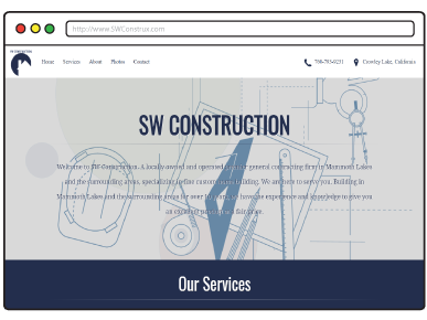 SW Construction Website